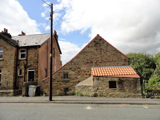 Old building on Benfieldside Road