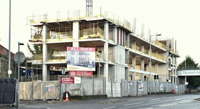 The Sandford site, Belfast (December 2017)