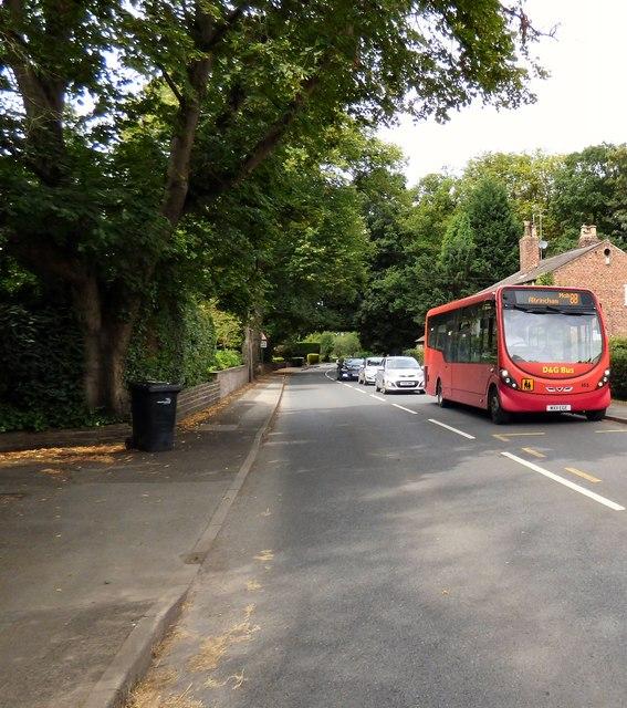 #88 bus on Hall Lane