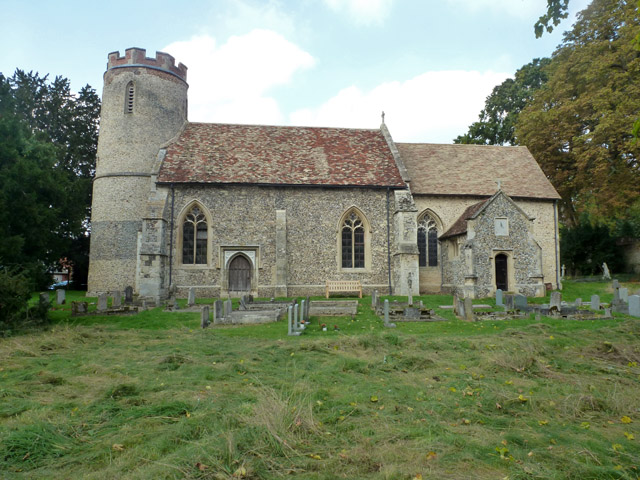 Bartlow church