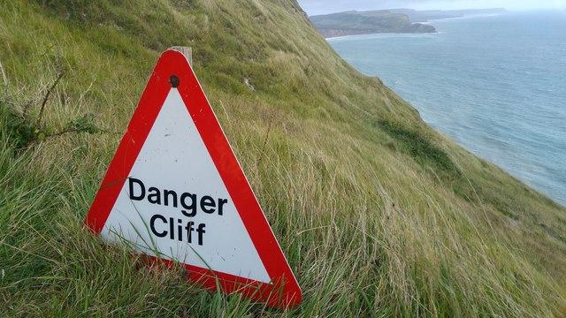 Danger - Cliffs