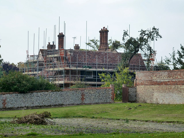 Maintenance on the Old Hall, Bartlow