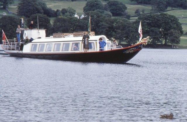 SY Gondola, Coniston Water