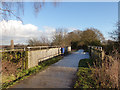 SJ6267 : Bridge over the road near Marton Hall by Stephen Craven