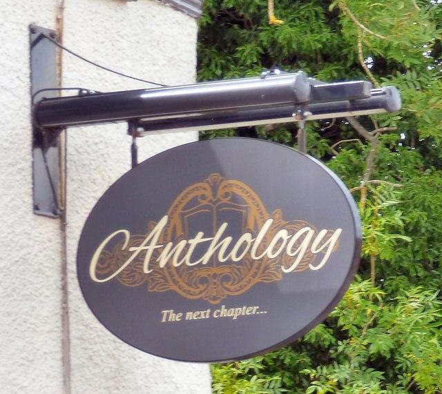 Anthology: pub sign