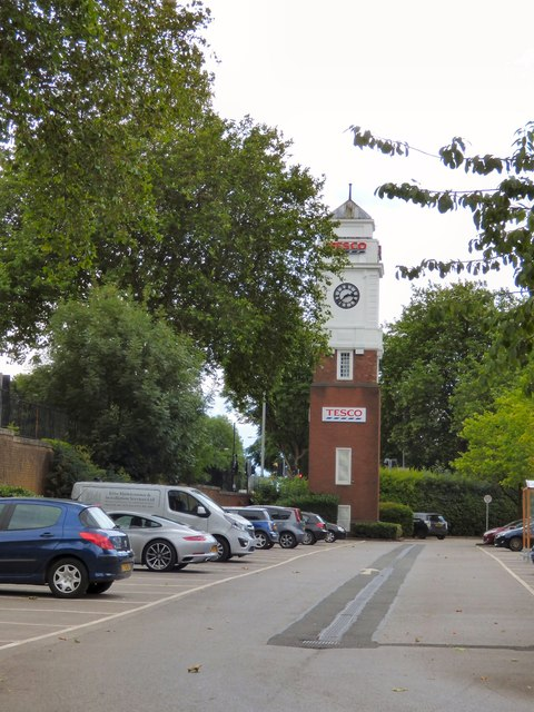 Tesco Clock Tower