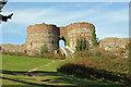 SJ5359 : Beeston Castle by Jeff Buck