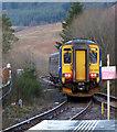 NN3825 : Crianlarich railway station by Thomas Nugent