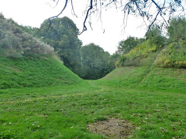 Between Bartlow Hills