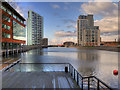 SJ3390 : Princes Dock, Liverpool by David Dixon