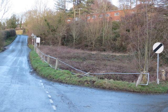 Damaged Railings at Batchelor's Bridge