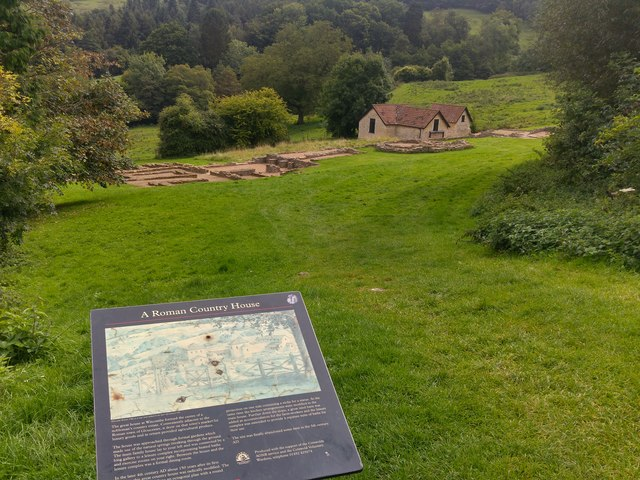Great Witcombe Roman Villa, Gloucestershire