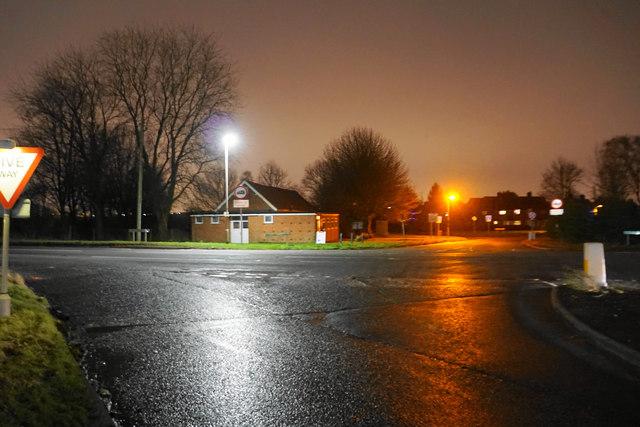 The Four Crosses crossroads