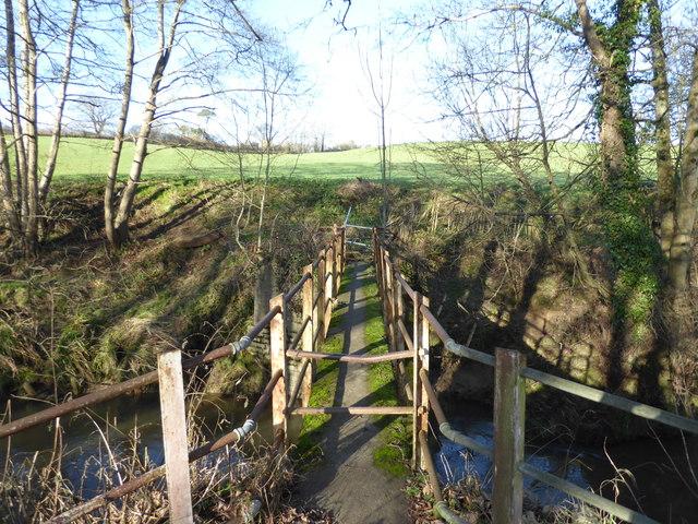 Bridge over stream near Yeovil Junction