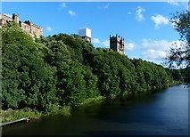 NZ2742 : Durham Cathedral and the River Wear by Mat Fascione
