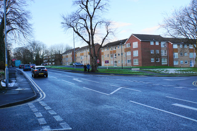 Blocks of flats on Lichfield Road