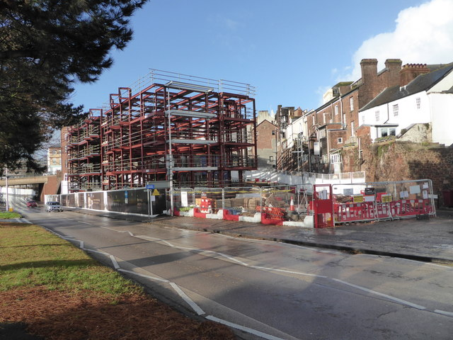 Building site, Exeter