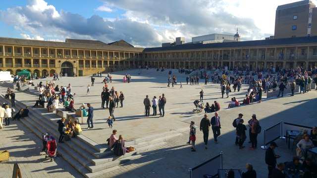 Re-opening of the Piece Hall, Halifax - 1st August 2017