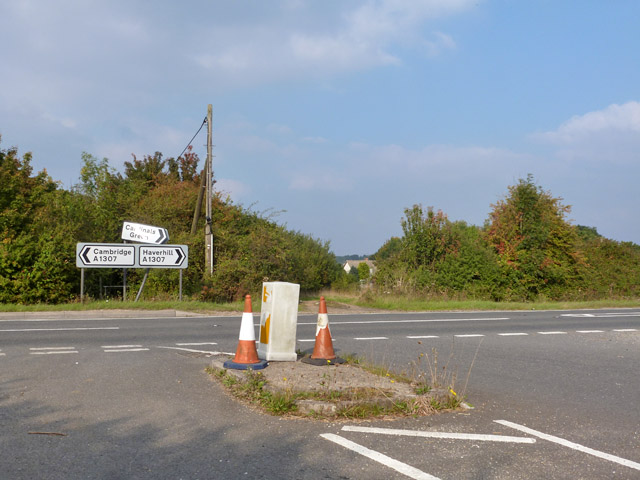 Howard's Lane meets the A1307