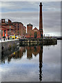 SJ3489 : Canning Dock and The Pumphouse by David Dixon