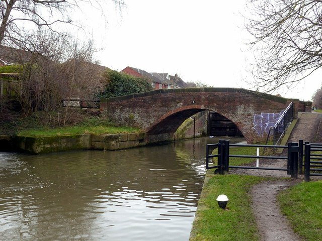 Dockholm Bridge , No.7, Erewash Canal