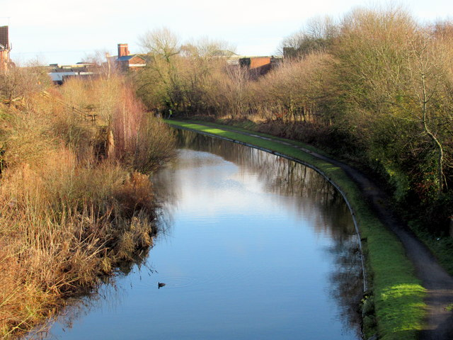 Smethwick Brasshouse Lane View of Canal