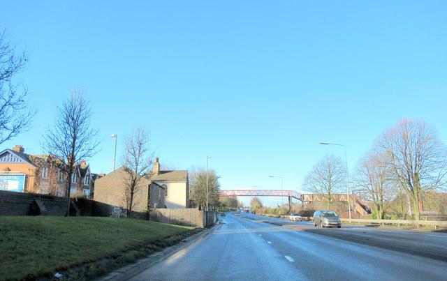 Smethwick Footbridge Over A457 Tollhouse Way