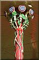 SE1338 : Decorative Ironwork on the Bandstand by Des Blenkinsopp