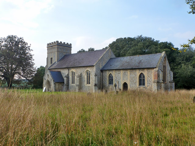 Weston Colville church