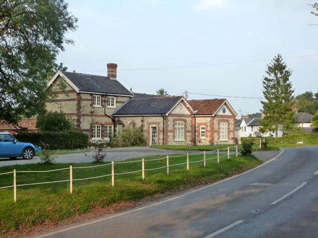Former school, Weston Colville