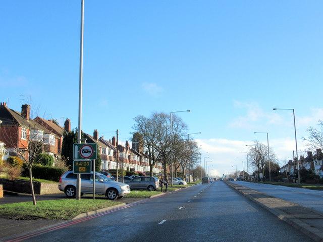 Wolverhampton Road Near Our Lady & Saint Hubert Church