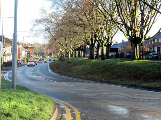 Perry Hill Lane Joining Hagley Road West Quinton