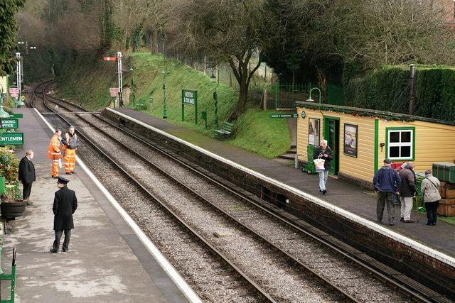 Medstead and Four Marks Railway Station