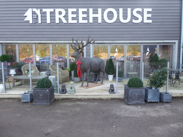 Treehouse shopping emporium and cafe
