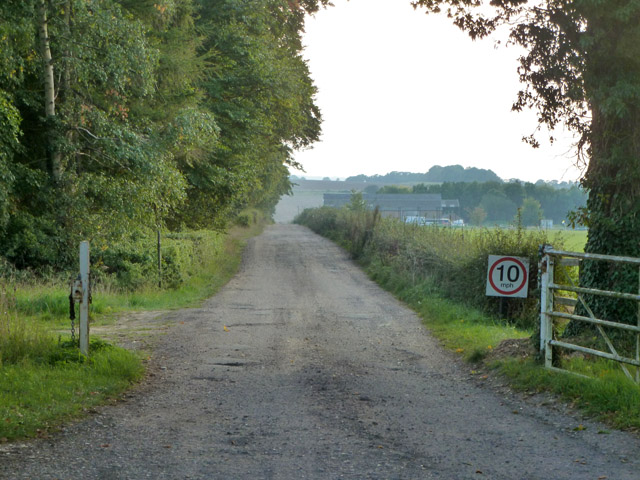 Track to Lower Farm