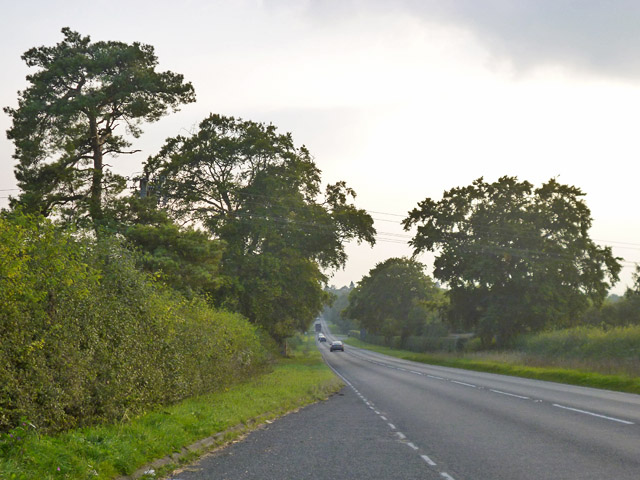 A1304 towards Sawston