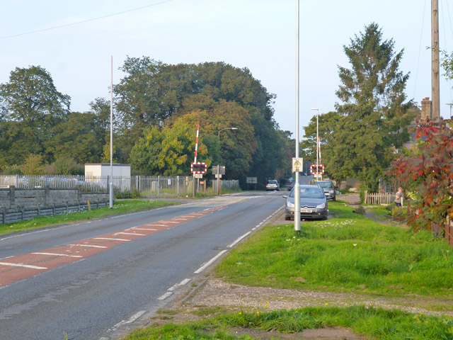 Level crossing, Six Mile Bottom