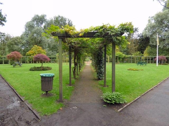 Tree lawn at Fletcher Moss Park