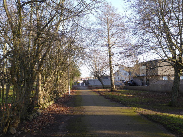 Pedestrian/Cycle access to Rubislaw Park Road