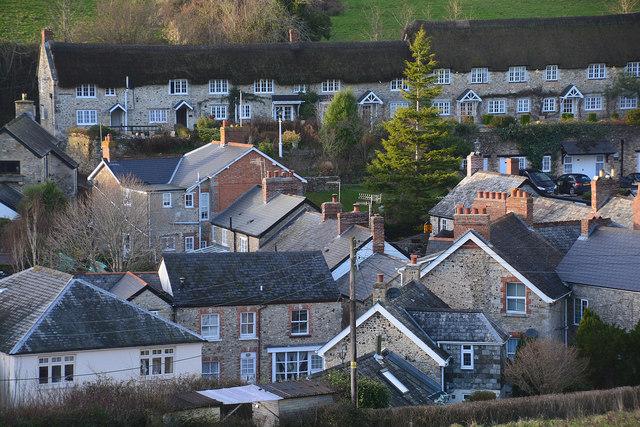 East Devon : Branscombe Scenery