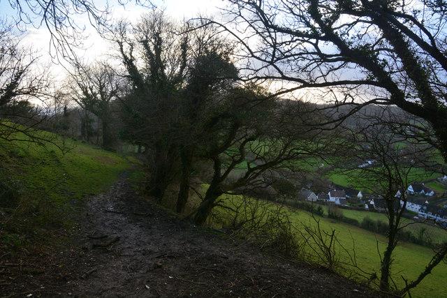 East Devon : Footpath