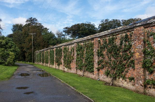 Access to stable yard, Trelowarren