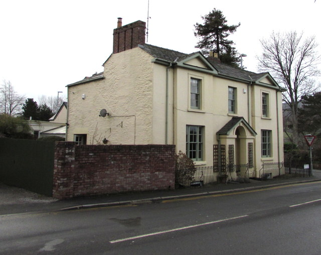 Grade II listed 34 Monmouth Road, Abergavenny