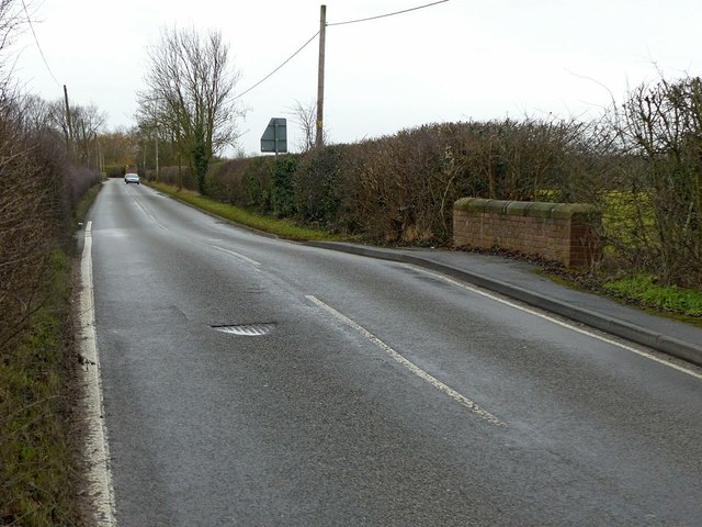 Sawley Lane, Breaston, the bridge over Golden Brook