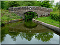 SJ9652 : Spring's Bridge north-west of Cheddleton in Staffordshire by Roger  Kidd