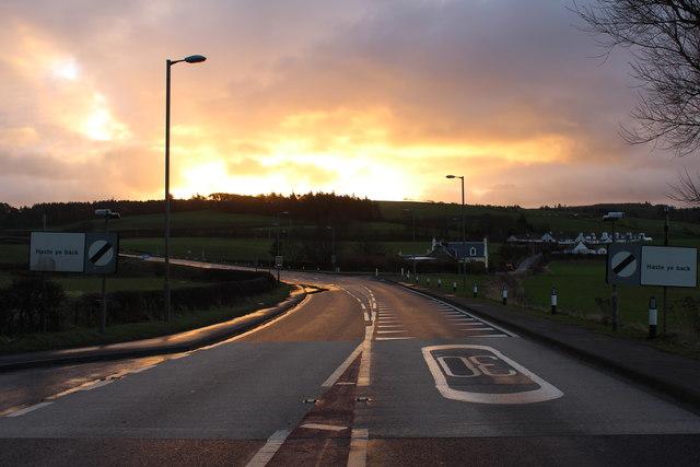 Sunrise, Ballantrae