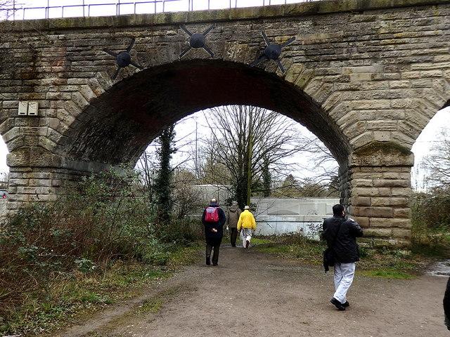 Milverton Viaduct, Leamington
