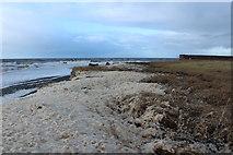 NX0882 : Stormy Shore, Ballantrae by Billy McCrorie