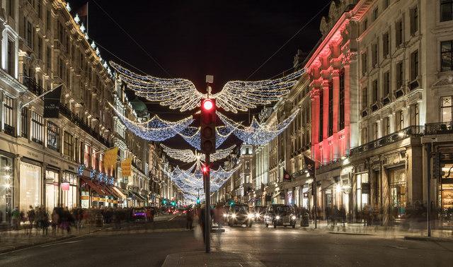 Regent Street Christmas Lights 2017