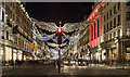 TQ2980 : Regent Street Christmas Lights 2017 : Week 1
